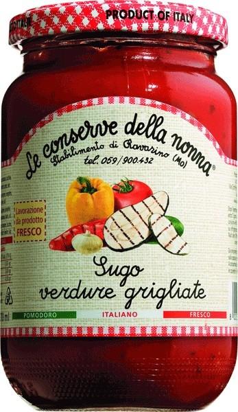 Le Conserve della Nonna - Tomatensauce mit gegrilltem Gemüse