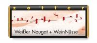 Zotter - Weißer Nougat mit roten Nüssen