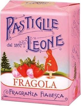 Leone - Pastillen Erdbeere