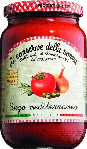 Le Conserve della Nonna - Tomatensauce mit Kräutern & Gemüse
