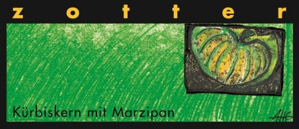 Zotter - Kürbiskern mit Marzipan