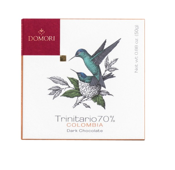 Domori - Cacao Trinitario 70% Colombia