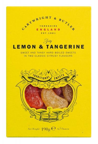 Cartwright & Butler - Lemon & Tangerine Sweets