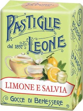 Leone - Pastillen Zitrone-Minze