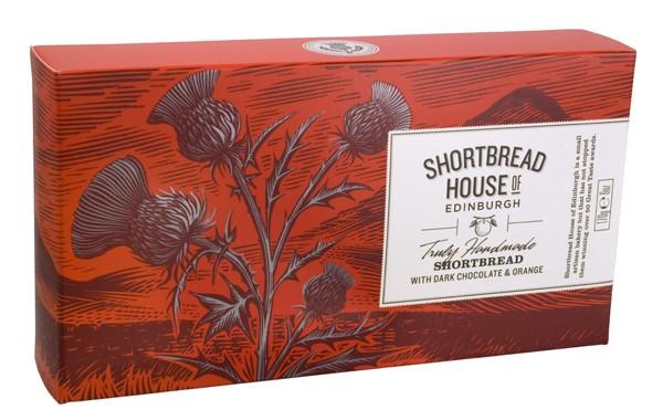 Shortbread House of Edinburgh - Shortbread mit Schokolade & Orange