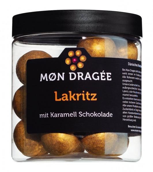 Mon Dragée - Lakritzdragees in Karamellschokolade
