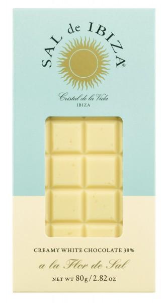 Sal de Ibiza - Weiße Schokolade mit Flor de Sal
