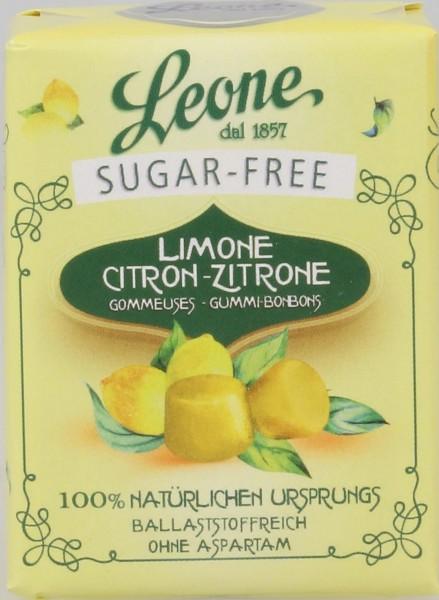 Leone - Zitronepastillen zuckerfrei