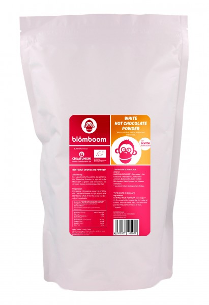 Blömboom - Foodservice White Hot Chocolate Powder Bio
