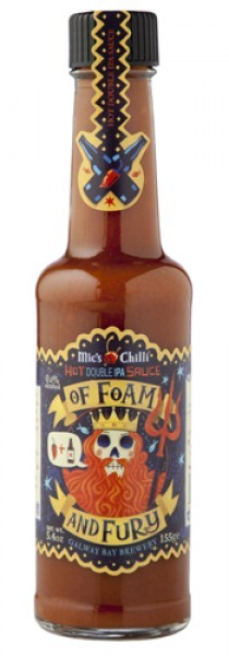 Mic's Chilli - Hot Double IPA Sauce Of Foam And Fury