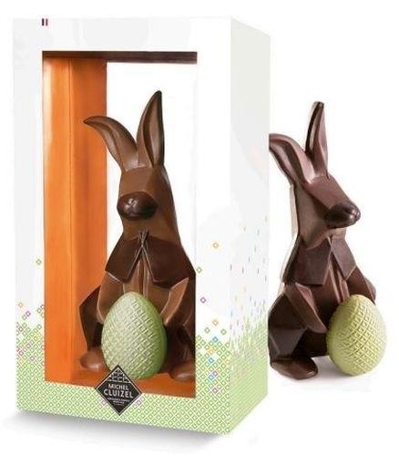 Michel Cluizel - Schokoladen-Hase 'Origami'