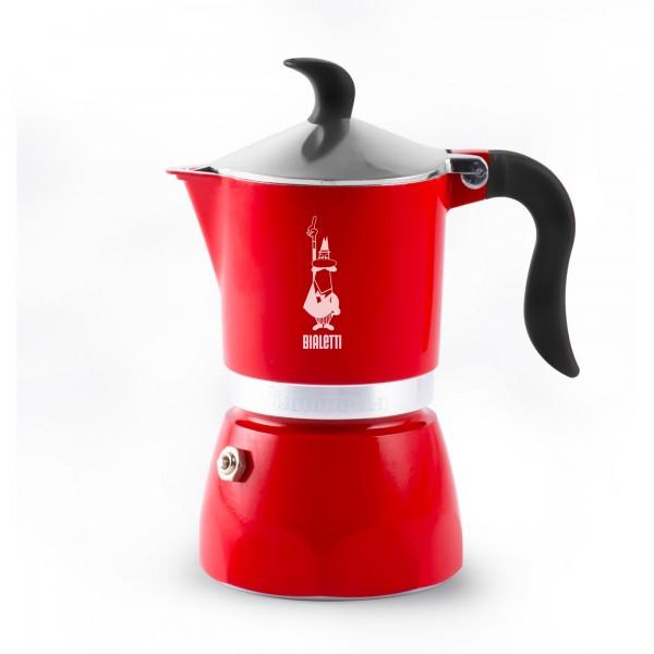 Bialetti - Espressokocher Fiammetta 3 Tassen rot