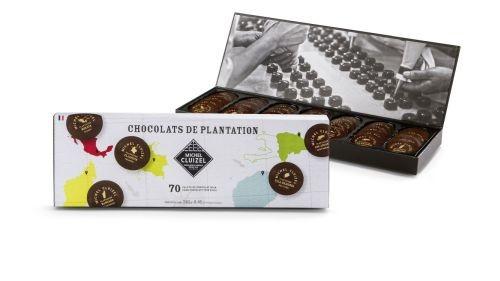 Michel Cluizel - Geschenkpackung mit den Plantagenschokoladen