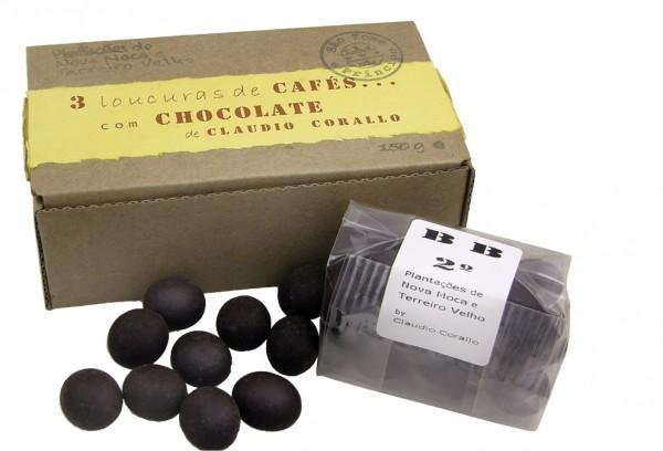 Claudio Corallo - 3 Loucuras de cafés com chocolate