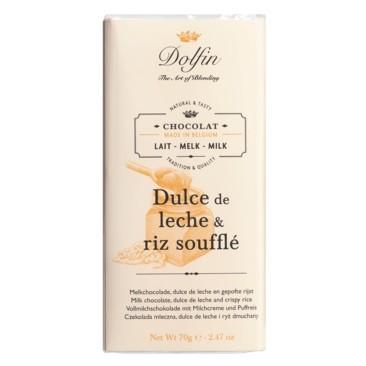 Dolfin - Vollmilch mit Milchcreme & Puffreis