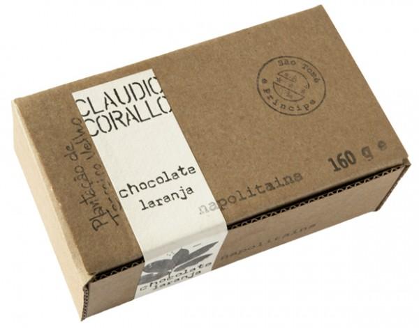 Claudio Corallo - Chocolate laranja Napolitains