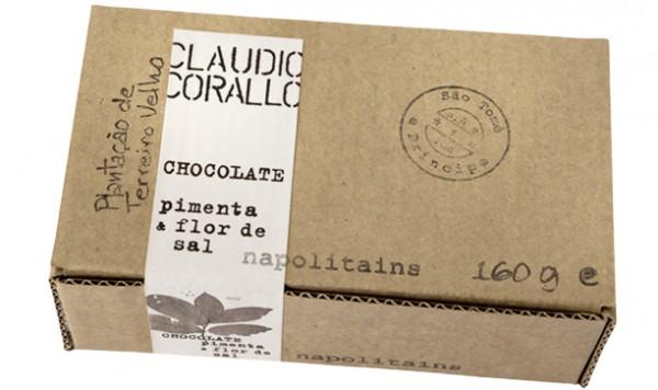 Claudio Corallo - Chocolate pimenta & flor de sal Napoltains 70%