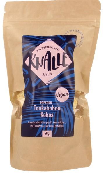 Knalle Popcorn - Tonkabohne-Kokos (vegan)