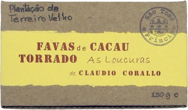 Claudio Corallo - Favas de cacau torrado