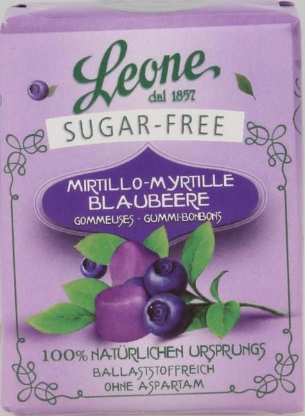 Leone - Heidelbeerpastillen zuckerfrei