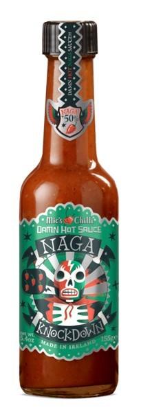 Mic's Chilli - Damn Hot Sauce Naga Knockdown