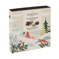Valrhona - Coffret 16 Chocolats Noel