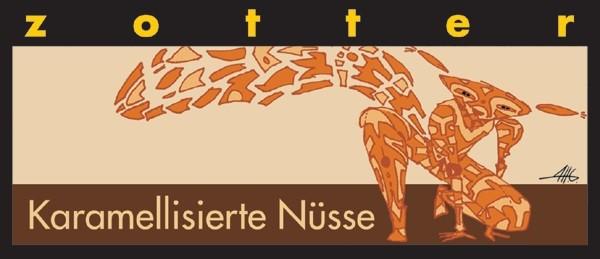 Zotter - Karamellisierte Nüsse