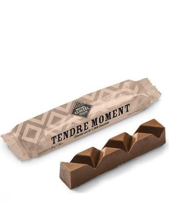 Michel Cluizel - Schokoladenriegel mit Praline und Haselnuss