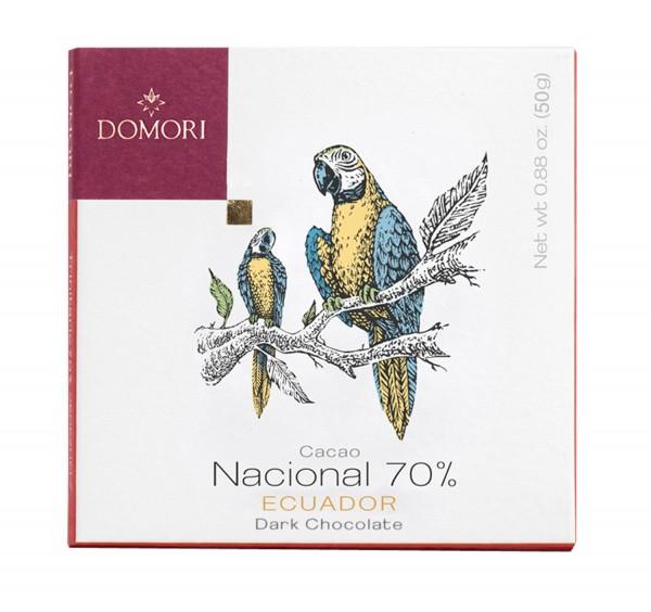 Domori - Cacao National 70% Ecuador