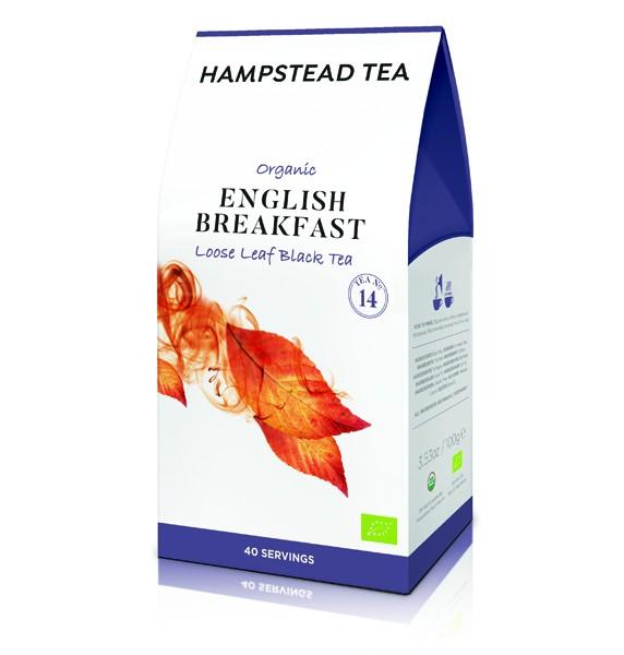 Hampstead Tea - English Breakfast Bio Black Tea (lose)