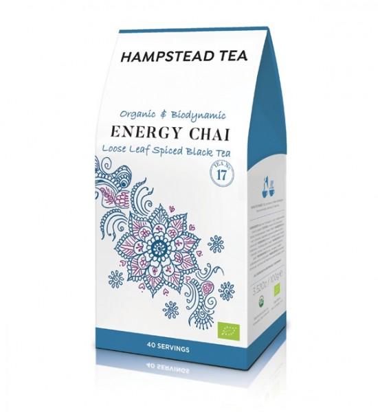 Hampstead Tea - Bio Energy Chai im Karton