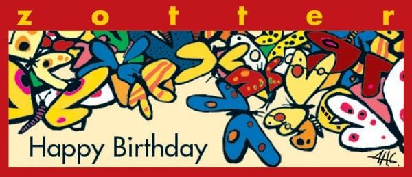 Zotter - Happy Birthday