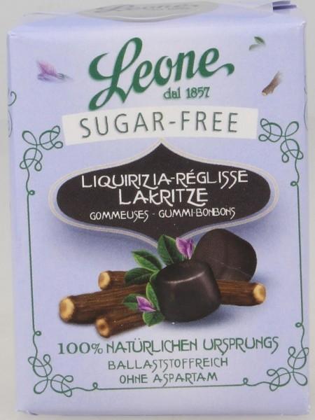 Leone - Lakritzpastillen zuckerfrei