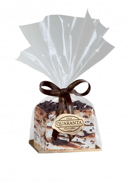 Quaranta - Torrone-Würfel Schokolade