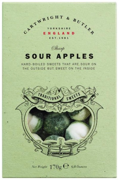 Cartwright & Butler - Sour Apple Sweets