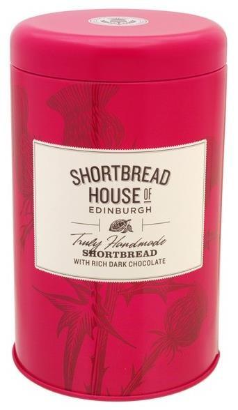 Shortbread House - Buttergebäck mit Edelbitterschokolade